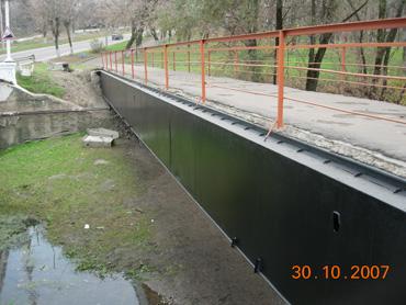 Мост после окраски