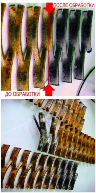 Фосфамит протравка, модификация ржавчины