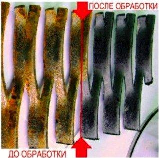 Протравка фосфамит модификатор преобразователь ржавчины