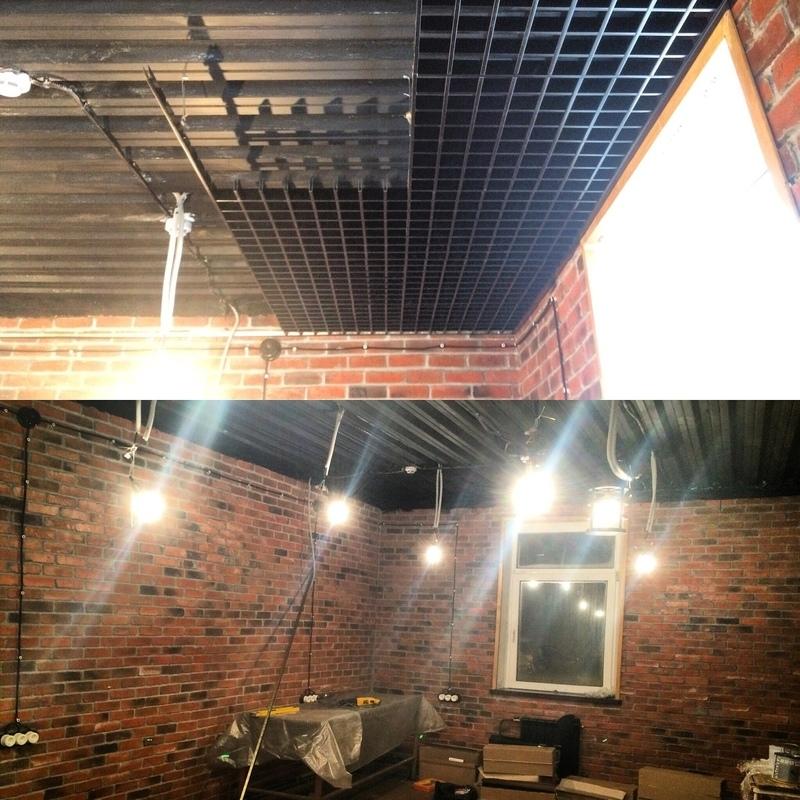 Чёрная краска для покрытия потолков технические спецификации