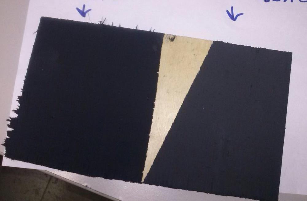 Глубокоматовая чёрная краска купить