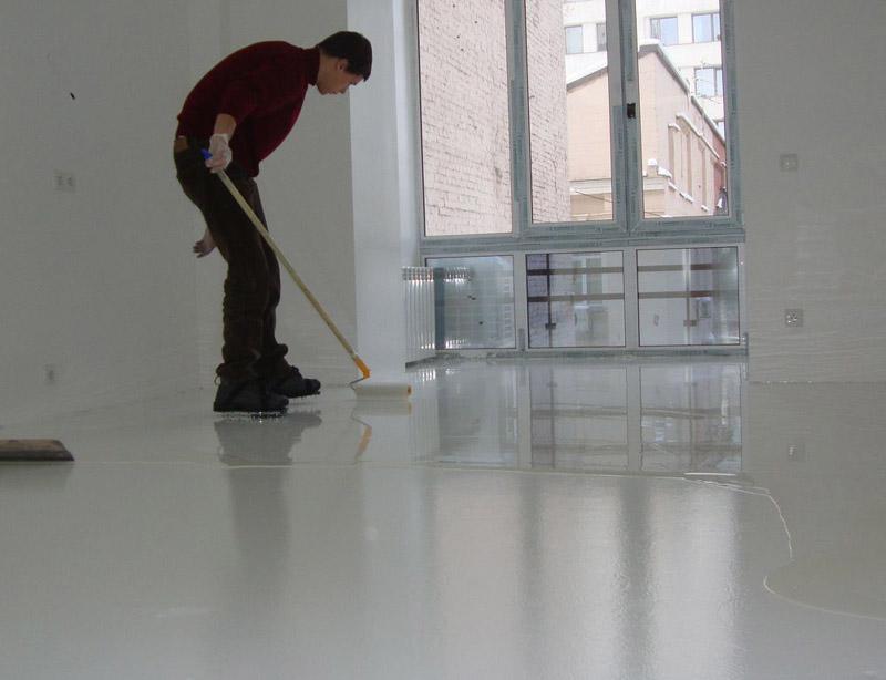 Наливные полы полимерные полы напольные покрытия окраска пола обеспыливание бетона промка гидроизоляция