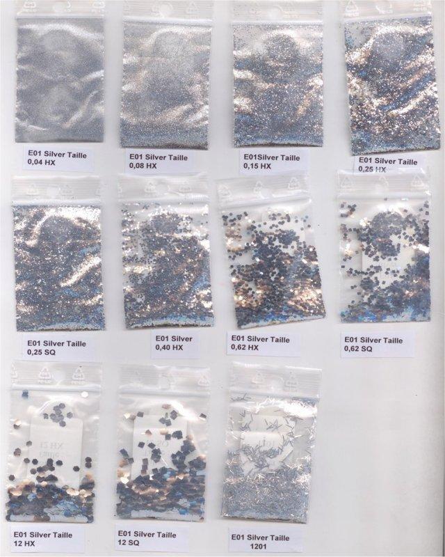 Флоки и блестки для наливных полов и декора
