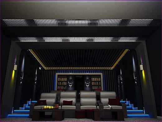 Глубоко-черная матовая краска для кинотеатров, клубов и ресторанов