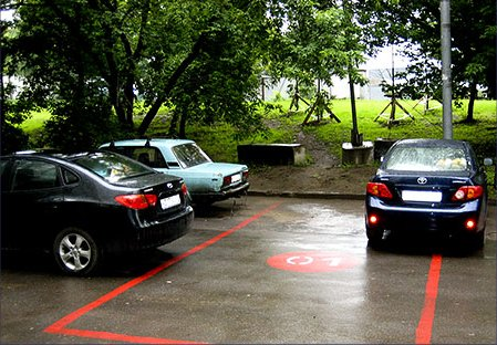 ПОЛИУРПОЛ - разметка паркингов